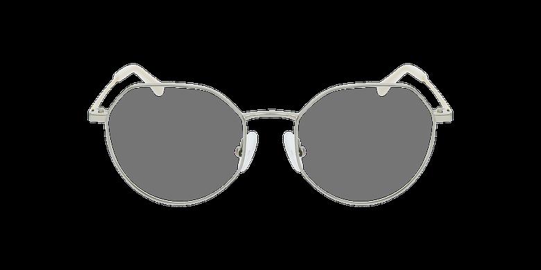 Óculos graduados senhora NOELIE GY (TCHIN-TCHIN +1€) prateado
