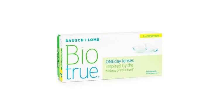 Lentilles de contact BioTrue Presbyte 30L
