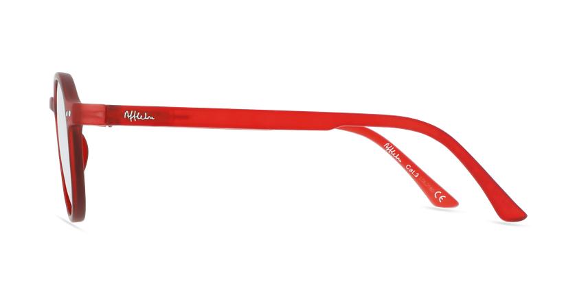 Óculos de sol criança PAZ RD vermelho - Vista lateral