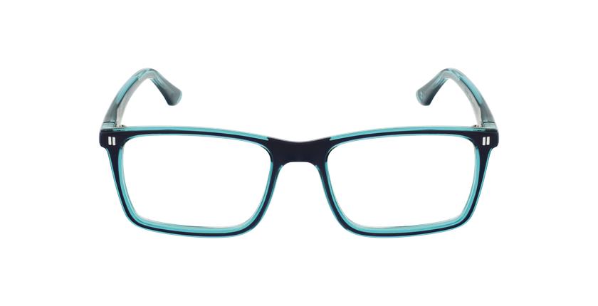 Óculos graduados criança REFORM TEENAGER (J1BLGR) azul/turquesa - Vista de frente
