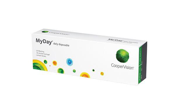 Lentilles de contact MyDay 30L - Vue de face