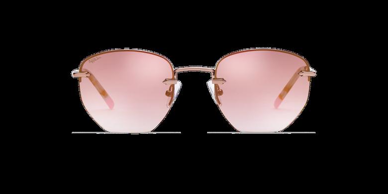 Lunettes de soleil femme JENNA doré/rose
