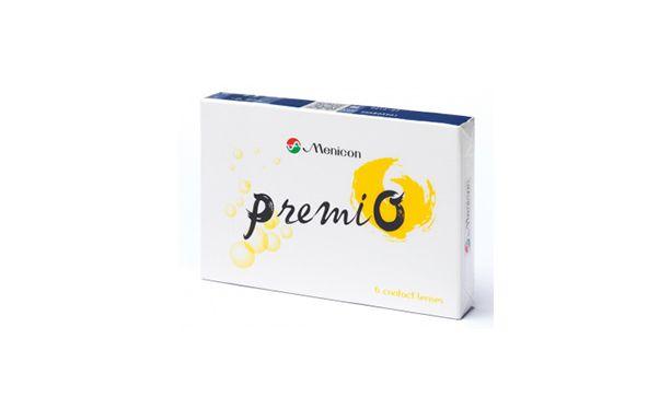 Lentilles de contact Menicon PremiO - Vue de face