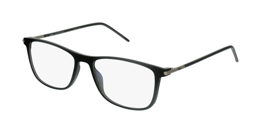 Lunettes de vue homme MAGIC 73 gris - vue de 3/4