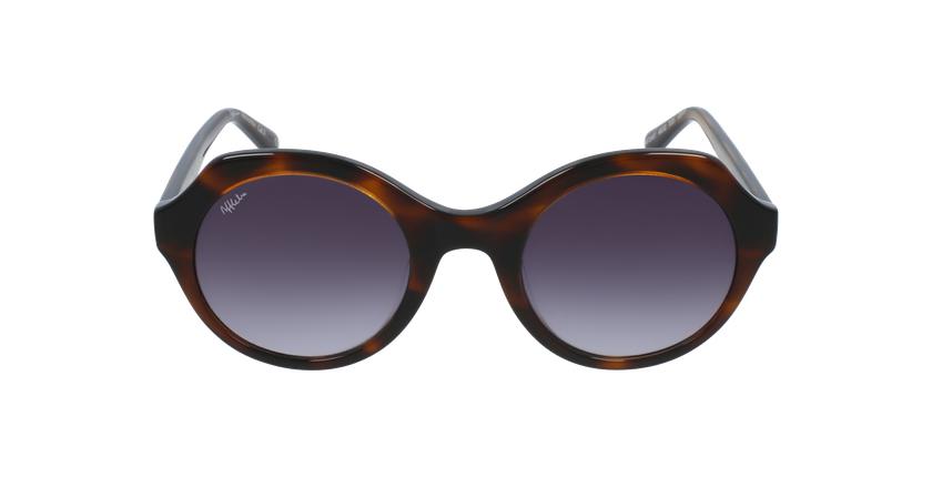 Óculos de sol senhora AUREA TO tartaruga  - Vista de frente