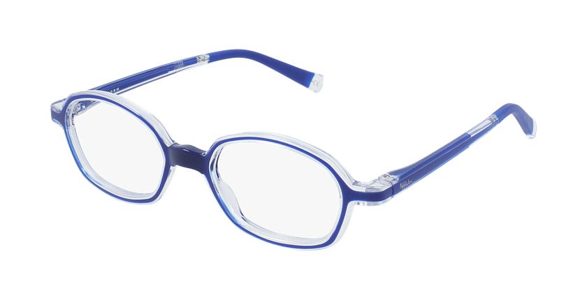 Óculos graduados criança RFOM2 BL1 REFORM azul - vue de 3/4