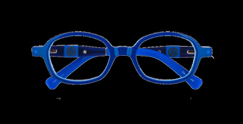 Lunettes de vue enfant CARL2 bleu/gris - Vue de face