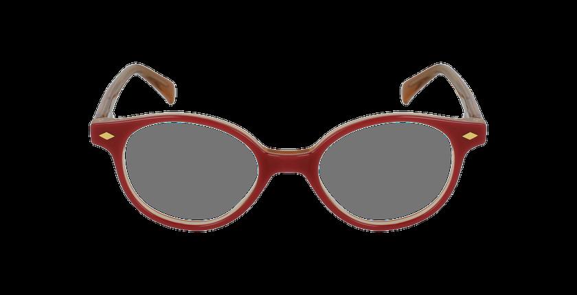 Lunettes de vue enfant ILONA rose/orange - Vue de face