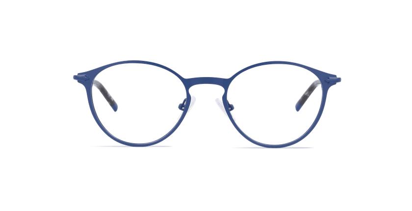 Óculos graduados homem LOM7240 azul - Vista de frente