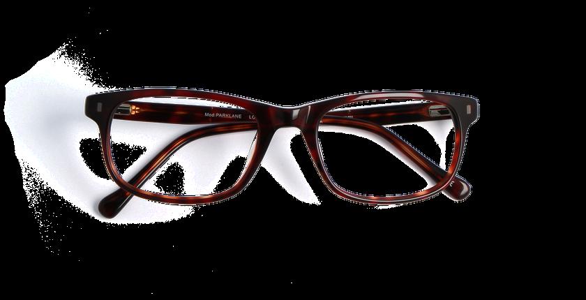 Lunettes de vue homme PARKLANE écaille - vue de face