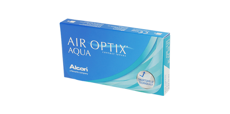 Lentilles de contact Air Optix Aqua 6L