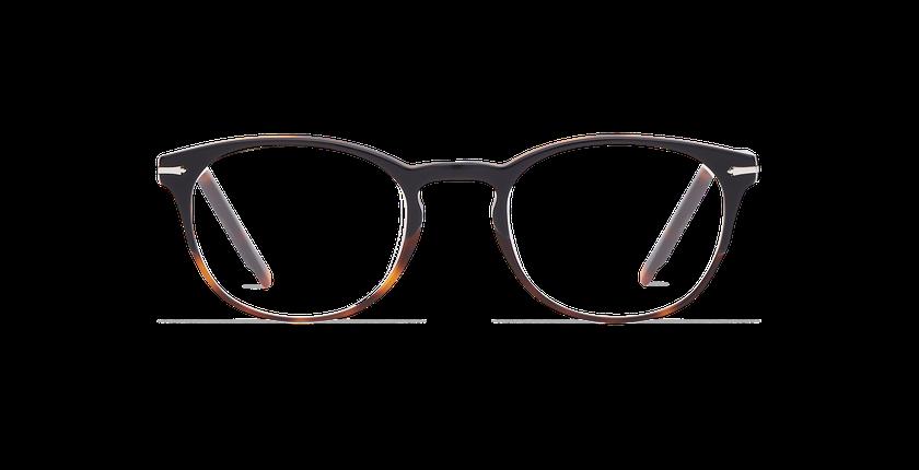 Gafas graduadas hombre CHAMPAGNOLE negro/carey - vista de frente