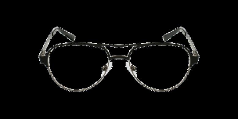 Óculos graduados NAEL BK (TCHIN-TCHIN +1€) preto/cinzentoVista de frente