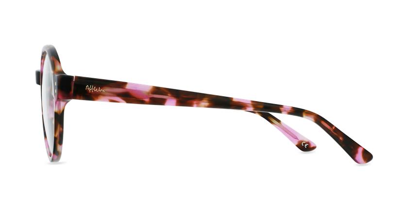 Óculos graduados EMMY PK (TCHIN-TCHIN +1€) tartaruga/rosa - Vista lateral