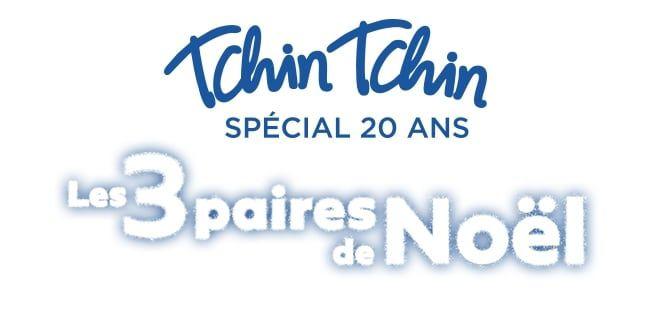 TCHIN TCHIN LES 3 PAIRES DE NOËL