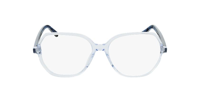 Óculos graduados senhora CONSTANCE BL (TCHIN-TCHIN +1€) azul - Vista de frente
