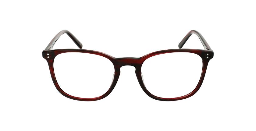 Óculos graduados homem MAXENCE RD (TCHIN-TCHIN +1€) vermelho - Vista de frente