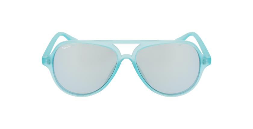 Óculos de sol criança RONDA GR verde - Vista de frente