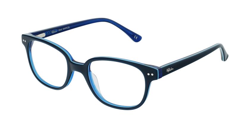 Óculos graduados criança MARCEL GRBL (TCHIN-TCHIN +1€) azul - vue de 3/4