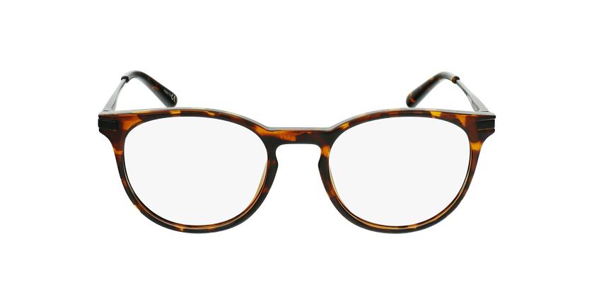 Óculos graduados criança ANTONIN TO (TCHIN-TCHIN +1€) tartaruga /preto - Vista de frente