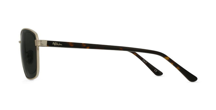Óculos de sol homem AMIR GD dourado - Vista lateral