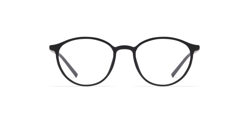 Óculos graduados senhora LIGHT TONIC PLUM preto - Vista de frente