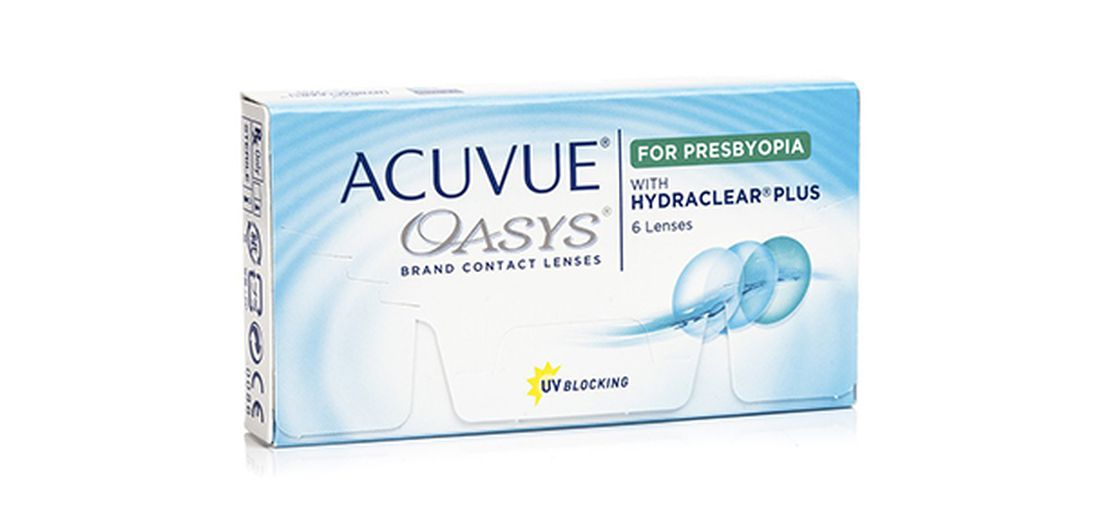Lentilles de contact Acuvue® Oasys® for Presbyopia