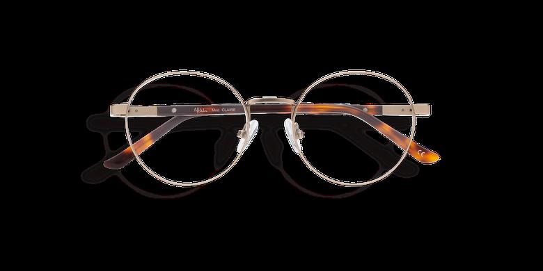 Óculos graduados senhora CLAIRE DOURADO (Tchin-Tchin +1€) dourado