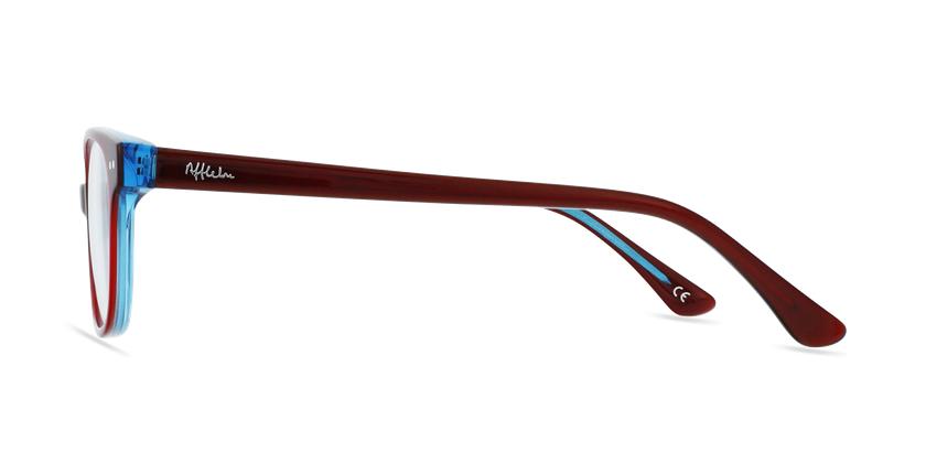 Óculos graduados criança MARCEL RDBL (TCHIN-TCHIN +1€) vermelho/azul - Vista lateral