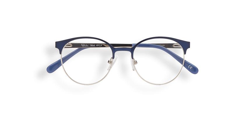 Óculos graduados criança AYLA BL  (Tchin-Tchin +1€) azul/prateado - Vista de frente