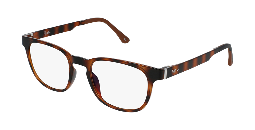 Óculos graduados homem MAGIC 33 TO BLUEBLOCK - BLOQUEIO LUZ AZUL tartaruga  - vue de 3/4