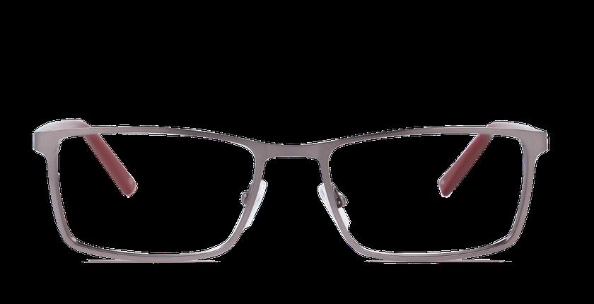167ce6d4b2423 ... Óculos graduados homem CHARLES verde - Vista de frente ...