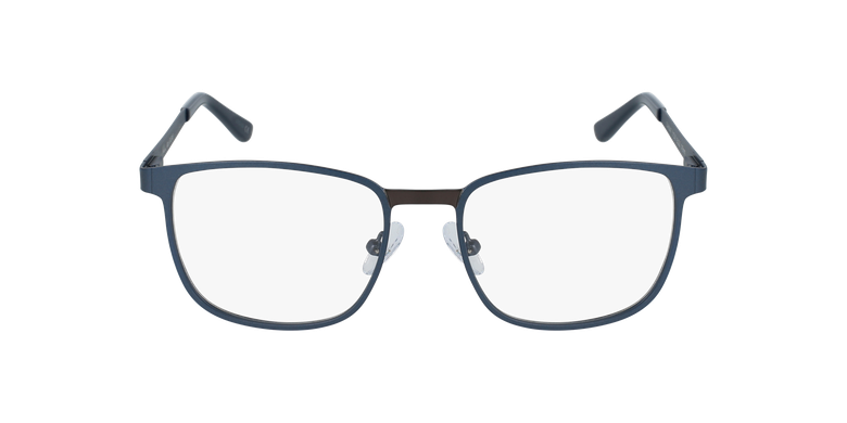 Lunettes de vue homme GILDAS bleu/gris