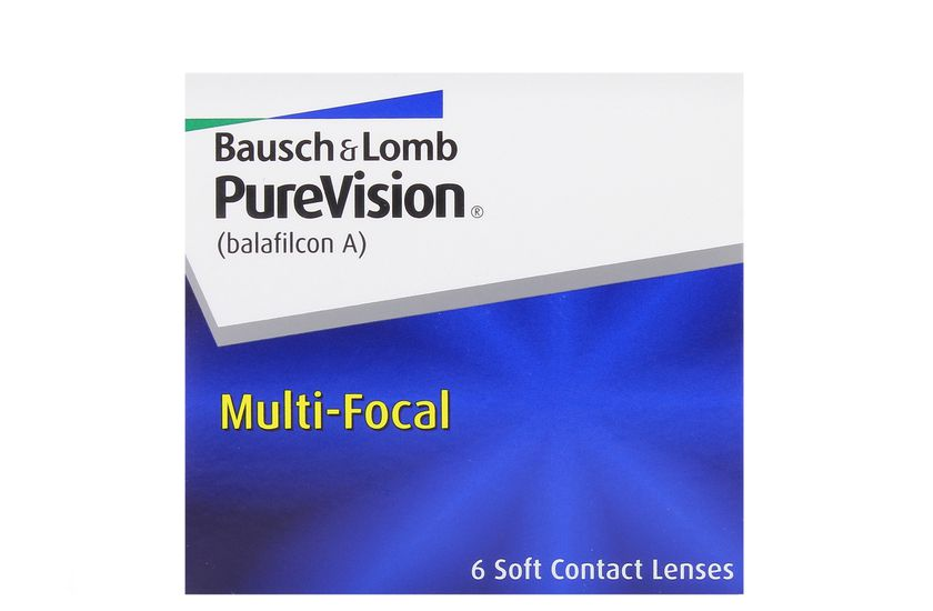 Lentilles de contact PureVision Multifocal HIGH 6L - vue de face