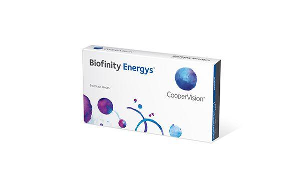 Lentilles de contact Biofinity Energys 6L - Vue de face