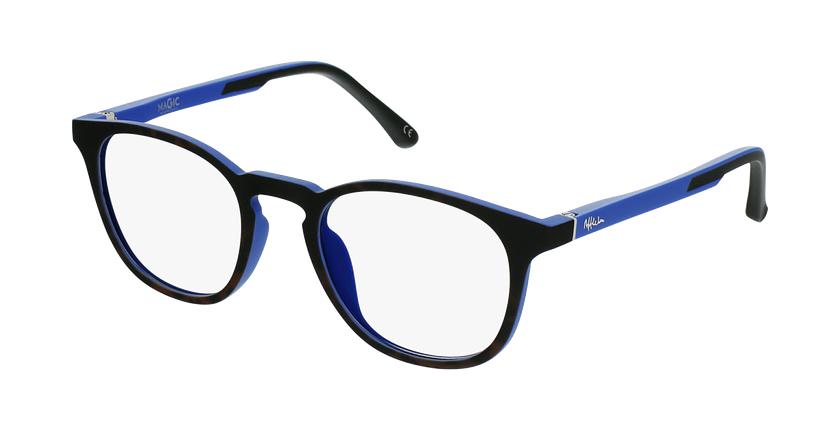 Óculos graduados criança MAGIC 79 TO - ECO FRIENDLY tartaruga /azul - vue de 3/4