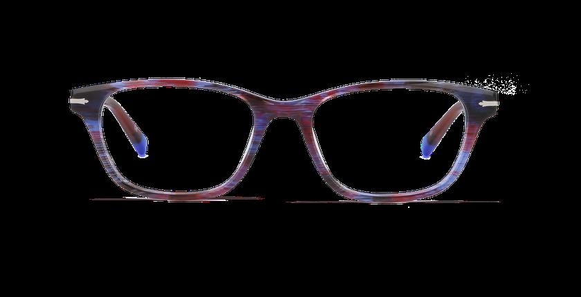 Lunettes de vue femme BELGRAVIA violet - vue de face