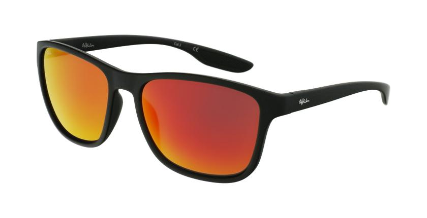 Óculos de sol homem SANTS BK preto - vue de 3/4