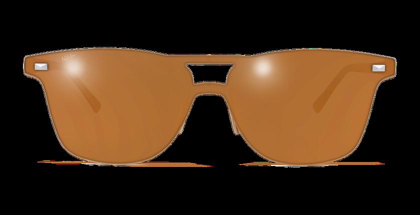 Lunettes de soleil homme COSMOS1 marron - vue de face