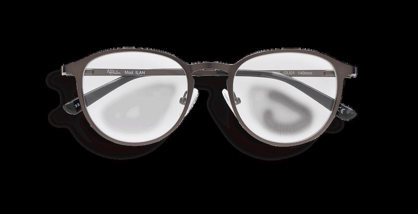 Gafas graduadas hombre ILAN gris - vista de frente