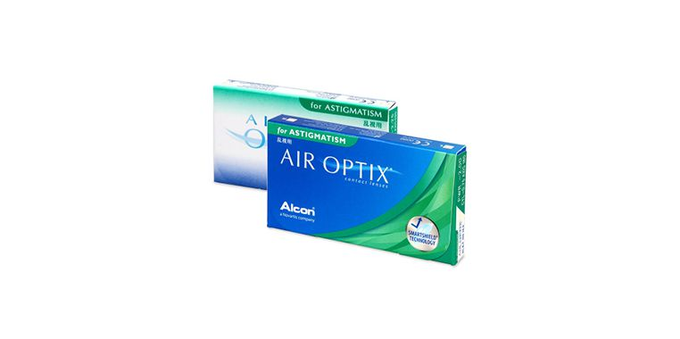 Lentes de contacto Air Optix for Astigmatism 3L