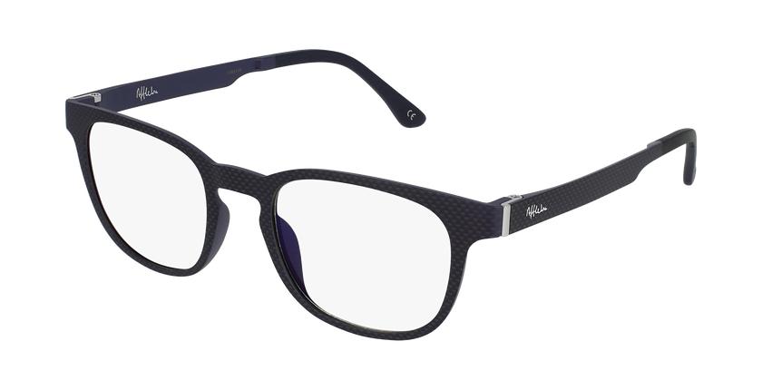 Óculos graduados homem MAGIC 33 BK BLUEBLOCK - BLOQUEIO LUZ AZUL preto - vue de 3/4