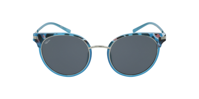 Lunettes de soleil femme BARCELO bleu