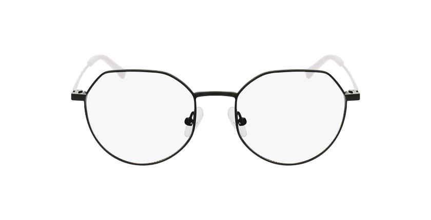 Óculos graduados senhora NOELIE BK (TCHIN-TCHIN +1€) preto - Vista de frente