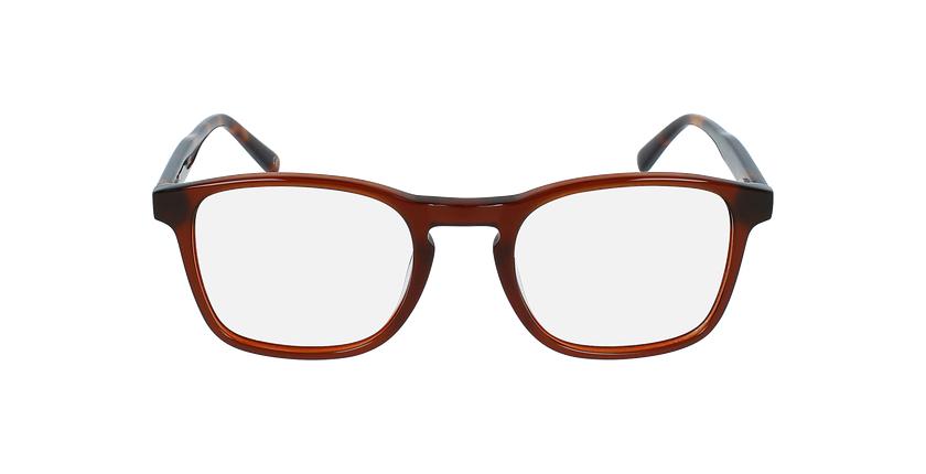Óculos graduados homem JAROD BR (tchin-Tchin +1€) castanho - Vista de frente