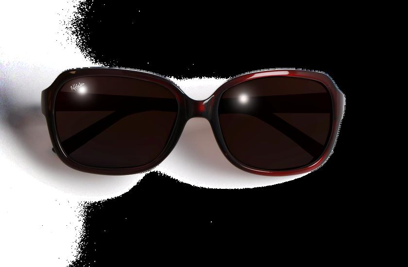 Gafas de sol mujer CAROLINA rojo - danio.store.product.image_view_face