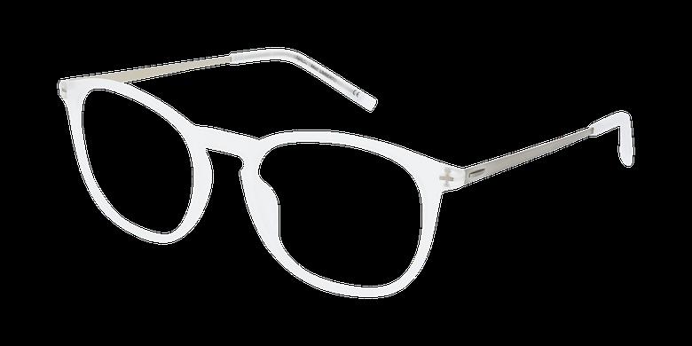 Lunettes de vue homme UMBERTO blanc/argenté