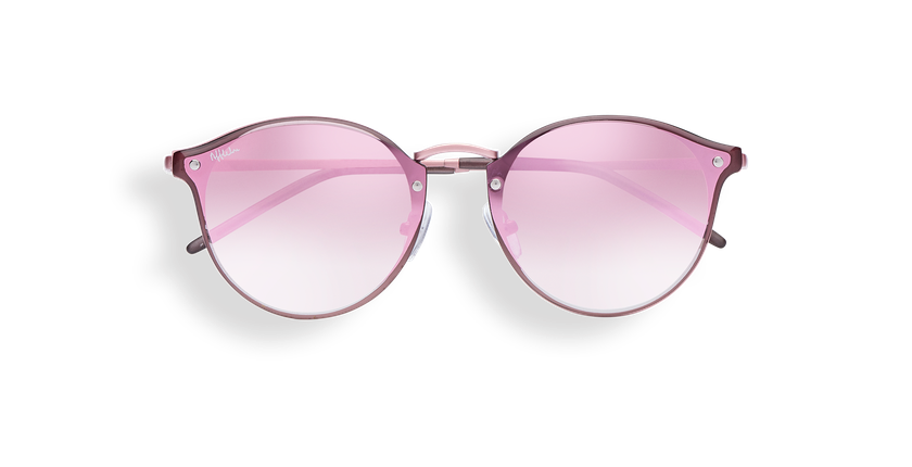 Gafas de sol mujer FRESH1 rosa - vista de frente
