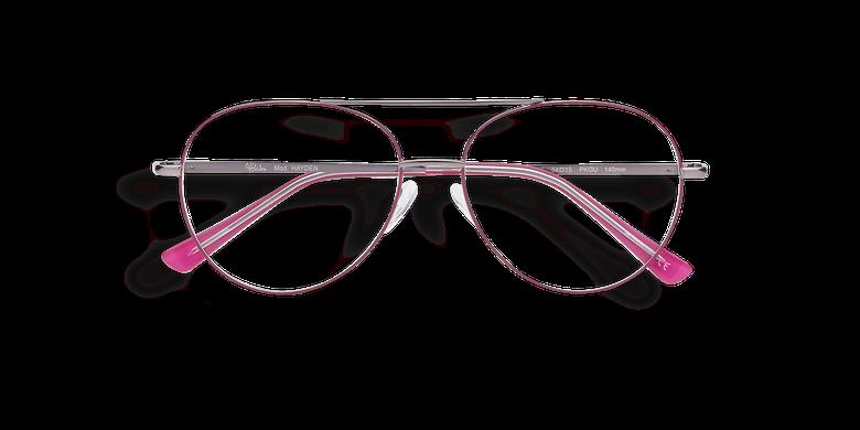 Óculos graduados HAYDEN rosa / dourado rosa/cinzento