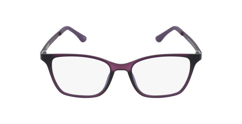 Lunettes de vue femme MAGIC 60 BLUEBLOCK violet - Vue de face